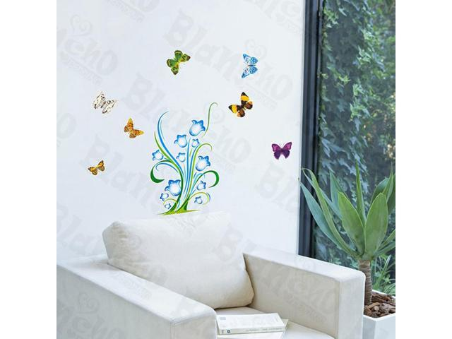 Home Kids Imaginative Art Wonderland - Wall Decorative Decals Appliques Stickers