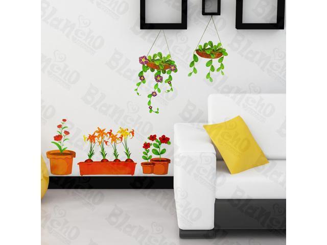 Home Kids Imaginative Art Pot Culture - Wall Decorative Decals Appliques Stickers