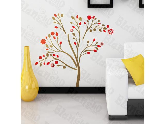 Home Kids Imaginative Art Abstract Flower  - Wall Decorative Decals Appliques Stickers