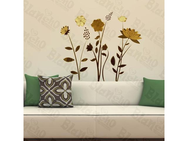 Home Kids Imaginative Art Aromatic Floral - Wall Decorative Decals Appliques Stickers