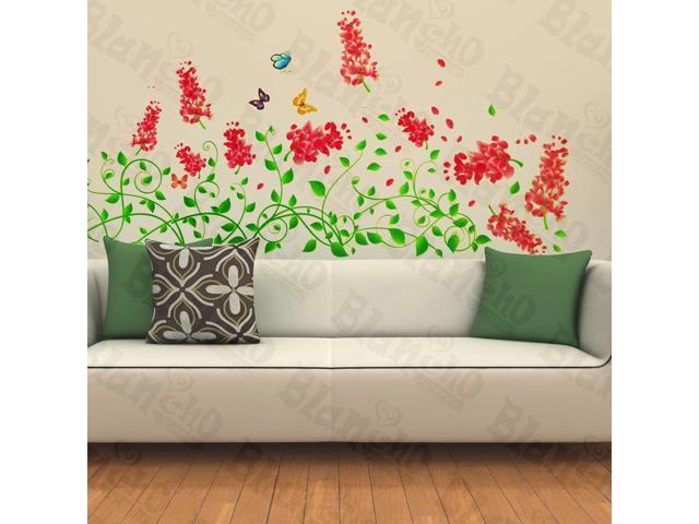 Home Kids Imaginative Art Vivid Spring Flowerlet - Wall Decorative Decals Appliques Stickers