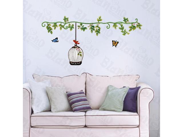 Home Bedroom Sping Comes - Hemu 12.6 BY 23.6 Inches Wall Decorative Decals Appliques Stickers