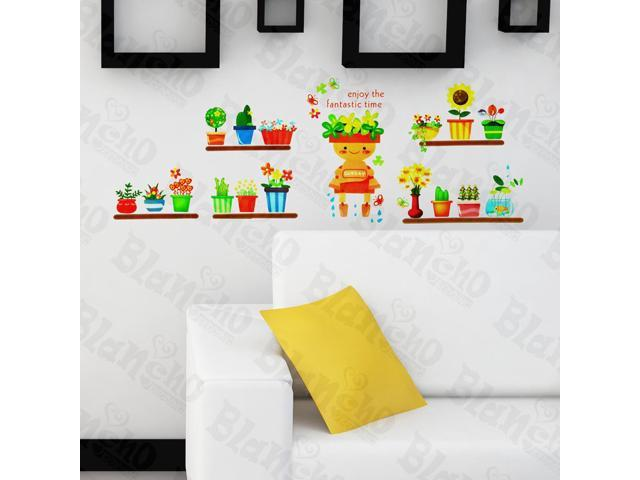 Home Kids Imaginative Art Gardeners - Wall Decorative Decals Appliques Stickers