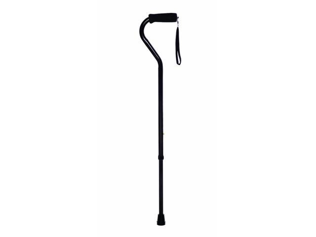Essential Medical Supply Health Care Hospital Patient Endurance Offset Handle Cane - Blue