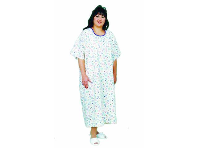 Essential Medical Supply Home Care Hospital Patient Dress King And Queen Size Patient Gown