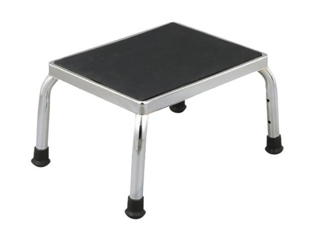 Essential Medical Supply Health Care Chrome Plated Foot Stool