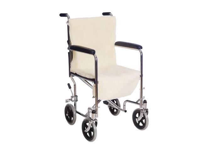 Essential Medical Supply Sheepette Hospital Patient Health Care Sheepette Wheelchair Seat And Back