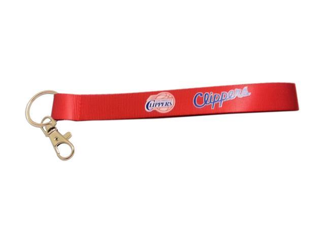 NBA Los Angeles Clippers Team Logo Wrist Strap Clip Lanyard Keyring Id Ticket