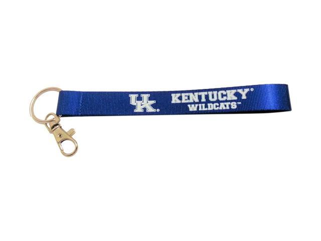 NCAA Kentucky Wildcats Chicago Bulls Team Logo Wrist Strap Clip Lanyard Keyring Id Ticket
