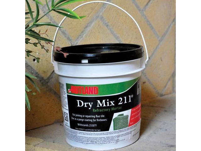 Fire Mortar Mix : Woodeze home indoor outdoor fireplace dry mix