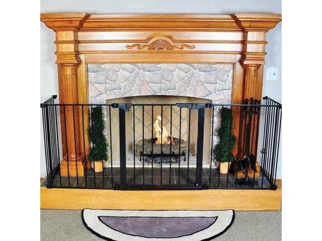 Woodeze Home Indoor Outdoor Fireplace HearthGate Child