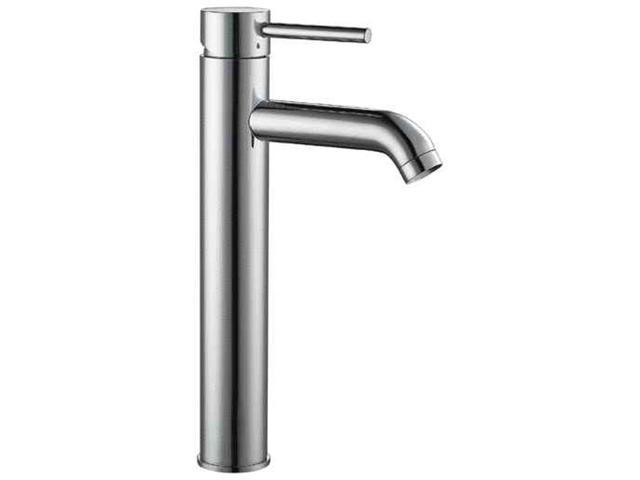 ALFI Brand AB1023 Tall  Polished Chrome Single Lever Bathroom Faucet