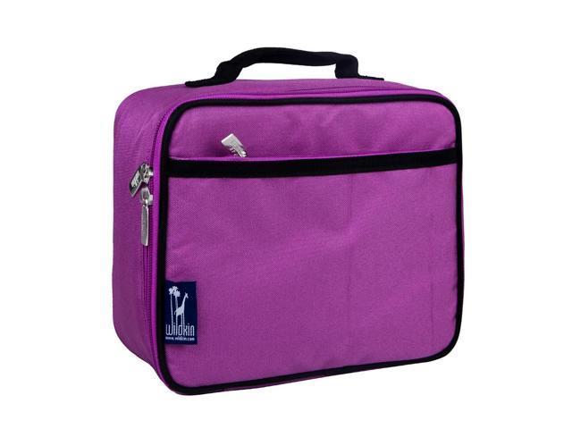 Wildkin Children Kids School Outdoor Camping Travel Accessories Orchid Lunch Box Purple