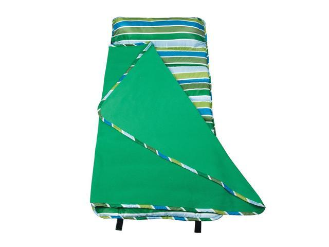 Wildkin Home Kids Accessories Cool Stripes Easy Clean Nap Mat Blue