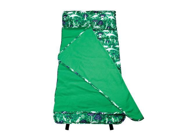 Wildkin Home Kids Accessories Dinomite Dinosaurs Easy Clean Nap Mat Green