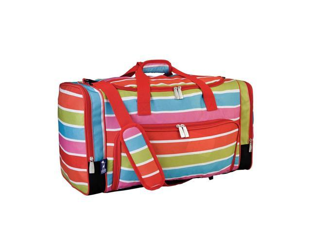 Wildkin Home Kids Accessories Bright Stripes Weekender Pink