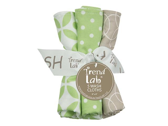 Trend Lab Nursery Kids Baby Products Bouquet 5 Pack Wash - Lauren