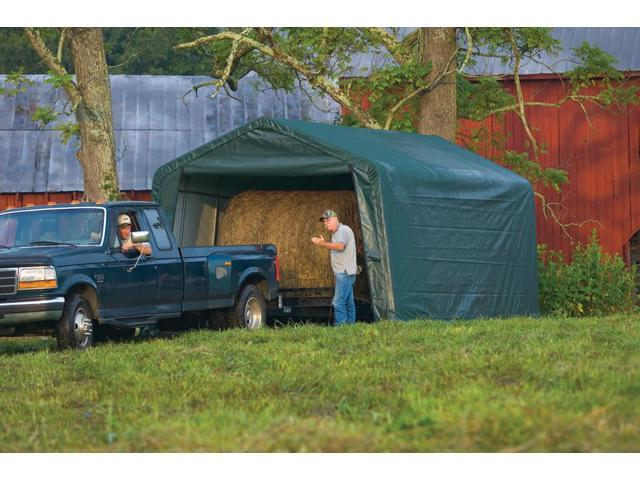 Vehicle Storage Shelter : Shelterlogic outdoor garage automotive boat car vehicle