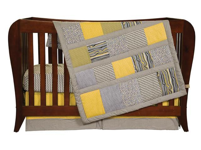 Hello Sunshine - 3 Piece Crib Bedding Set