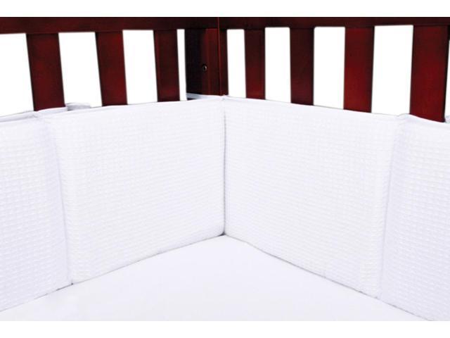 White Pique - Crib Bumpers