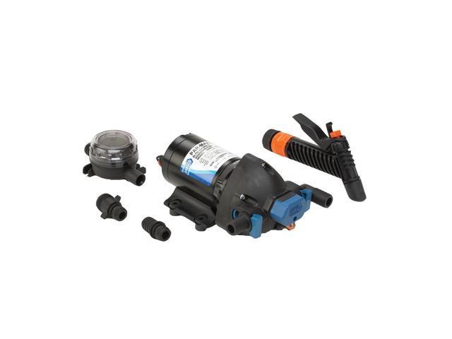 Jabsco Par-Max Washdown Pump Kit - 4.0GPM-60psi-12VDC - Includes Strainer
