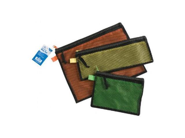 Alvin Office Cash Coin Stationery Storage Organizer 3-Piece Everything Bag Set
