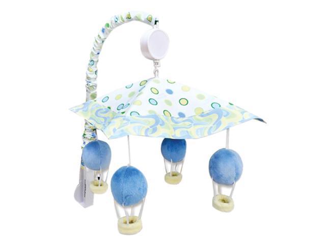 Trend Lab Infant Nursery Mobile - Dr. Seuss Blue Oh, The Places You'Ll Go