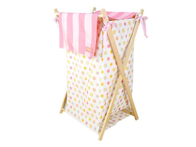Trend Lab Infant Nursery Hamper Set - Dr. Seuss Pink Oh The Places You'Ll Go