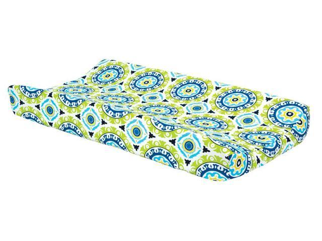 Trend Lab  Decorative Changing Pad Cover Waverly Solar Flair