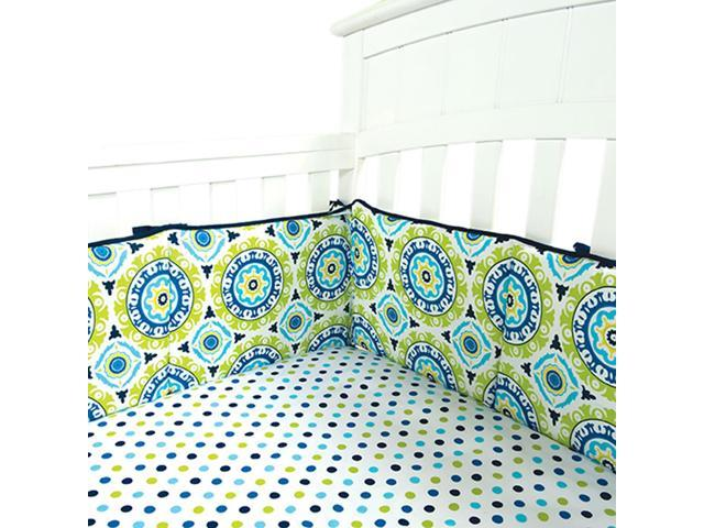 Trend Lab  Decorative Waverly Solar Flair Crib Bumpers