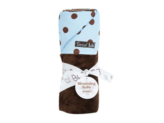 Trend Lab Kids Infant Newborn Sleeping Wrap Baby Receiving Blanket - Max Dot