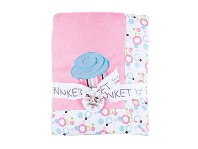 Trend Lab Framed Cupcake Baby Receiving Blanket