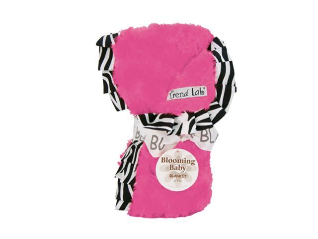 Trend Lab Baby Receiving Blanket - Ruffle Trimmed Zahara
