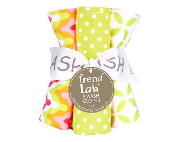 Trend Lab Kids Infant Bouquet 5 Pack Wash - Savannah
