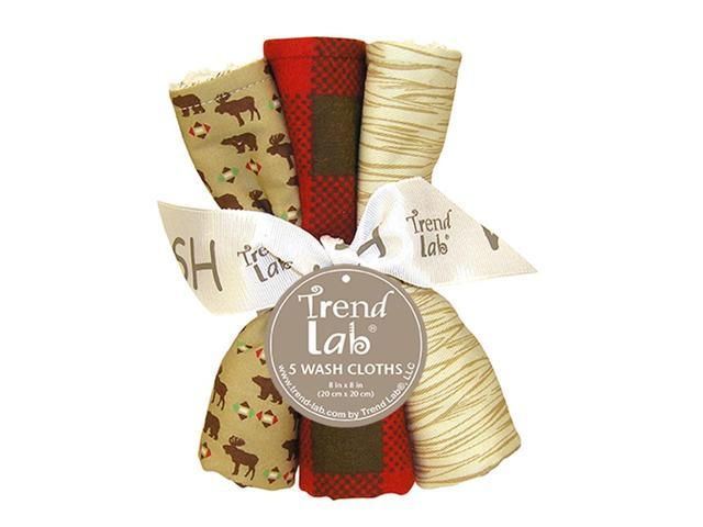 Trend Lab Kids Infant Bouquet 5 Pack Wash - Northwoods