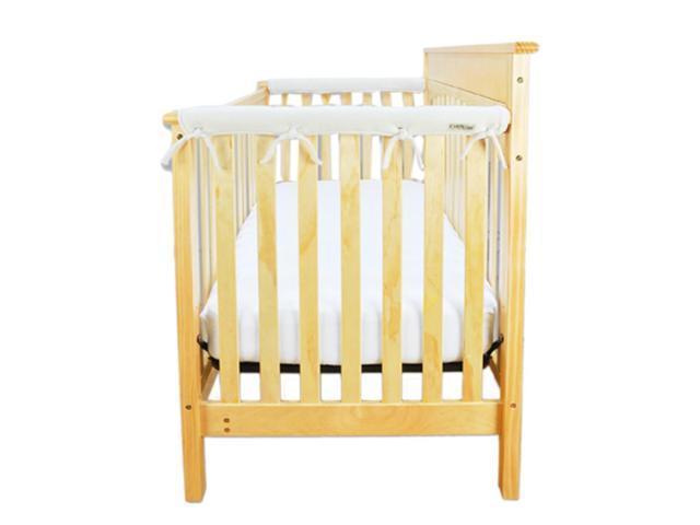 Trend Lab Kids Baby Cribwrap Narrow Rail Cover - Short Natural Fleece