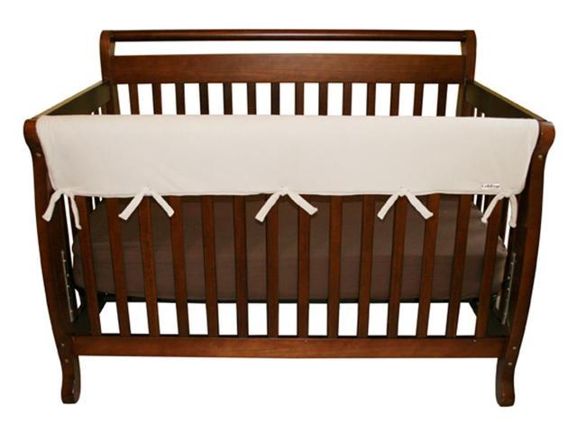 Trend Lab 109082 Baby Cribwrap Wide Rail Cover - Long Natural Fleece