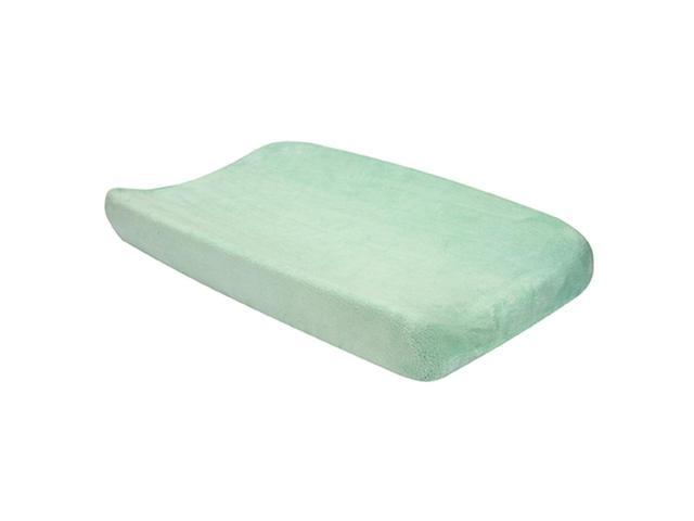 Trend Lab Kids Baby Changing Pad Cover - Cocoa Mint
