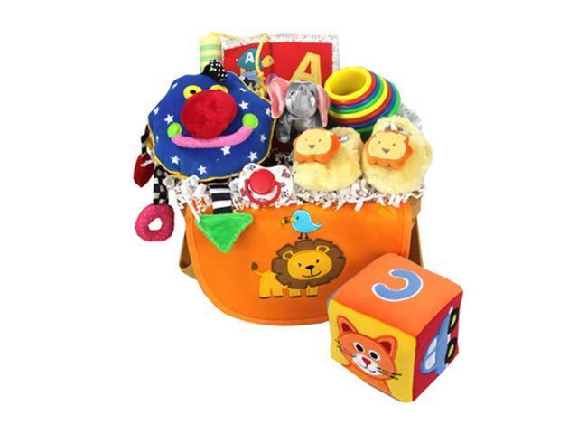 Babygiftidea Newborn Keepsake Essential Storage Celebration New Baby Gift Basket