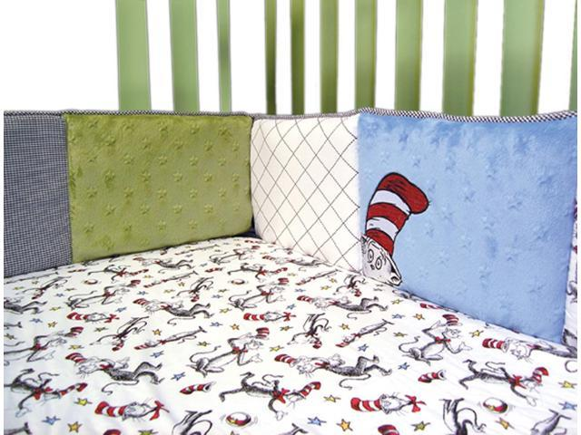Trend Lab Kids Nursery Decorative Dr. Seuss Cat In The Hat - Crib Bumpers
