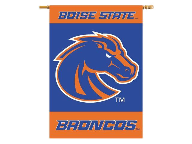 BSI Indoor Outdoor Sports Banner Boise State Broncos 2-Sided 28