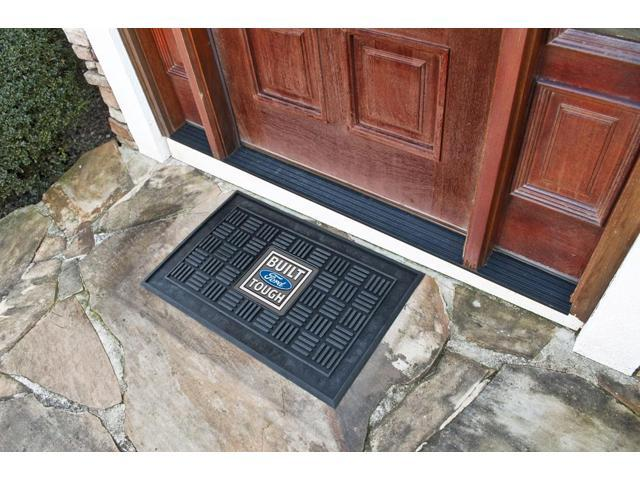 Fanmats Built Ford Tough Medallion Door Mat