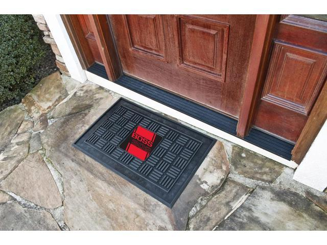 Fanmats Ford - Boss 302  Medallion Door Mat - Red