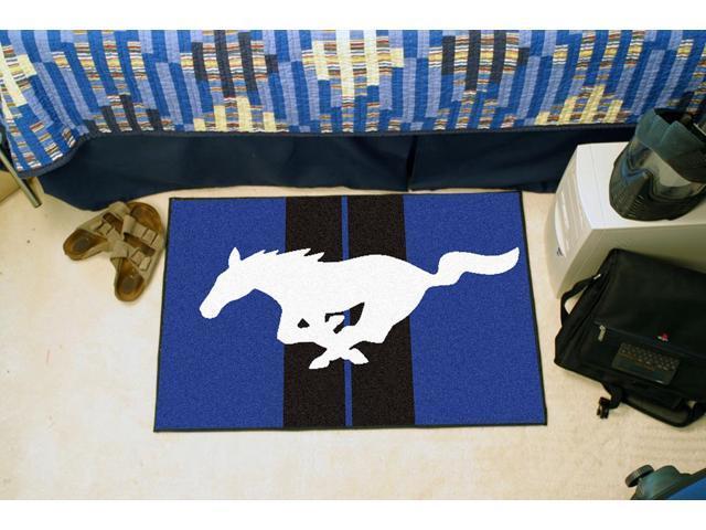 Fanmats Mustang Horse  Starter Rug 19