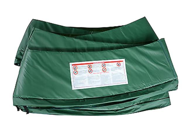 Standard Kids Outdoor Safety Pad (Spring Cover) for 12ft Trampoline - Green
