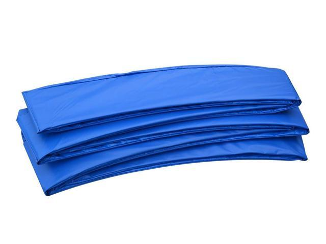 Heavy Duty Kids Outdoor Safety Pad (Spring Cover) for 12ft Trampoline - Blue
