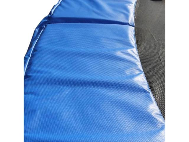15 ft. Round Pe Trampoline Safety Pad - Fits Any Brand Trampoline - Blue- 15T-T-B