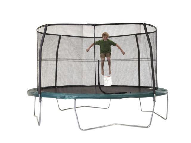 Jumpking 14 ft. 4 Pole G4 Enclosure Netting with Rope- JK14G4EN