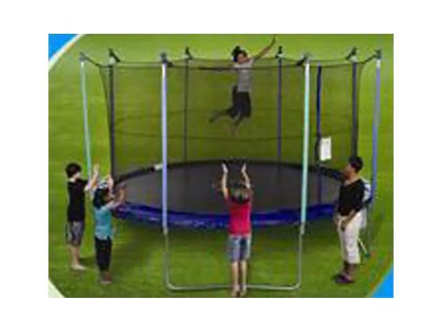 Net for 13ft Trampoline Enclosure using 8 Poles and Straps
