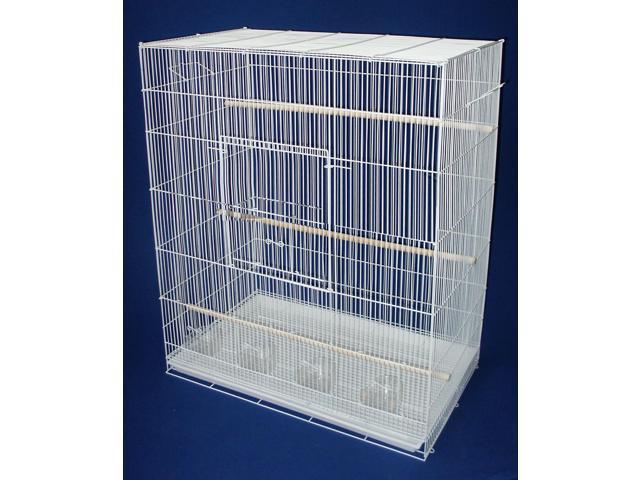 YML 4 Large Breeding Cages - White - 4x2484WHT